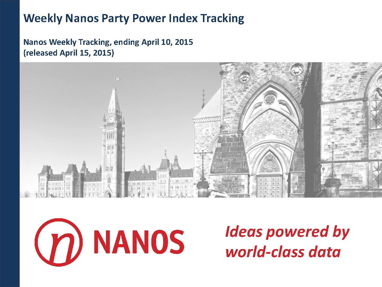 New Government Report Suggests 1 In 40 >> Reports Nanos Research